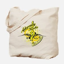 Sarcoma Advocacy Rocks Tote Bag