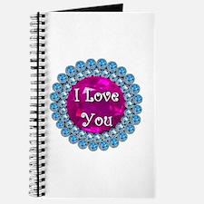 I Love You Diamonds Journal