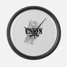 Union Supporter Large Wall Clock