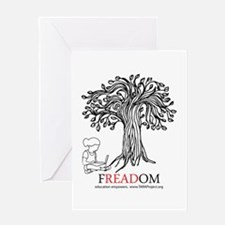 Freadom Greeting Card