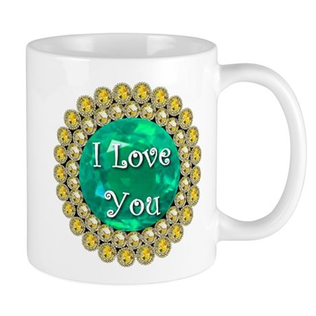 I Love You Birthstones Mug