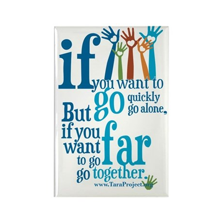 Go Together Rectangle Magnet (10 pack)