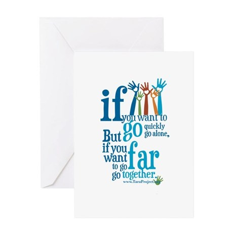 Go Together Greeting Card