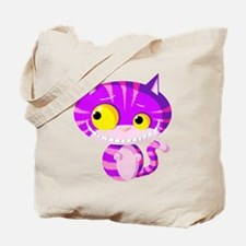 Cheshire Kitten Tote Bag