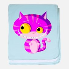 Cheshire Kitten baby blanket