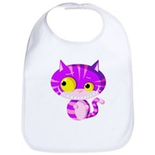 Cheshire Kitten Bib