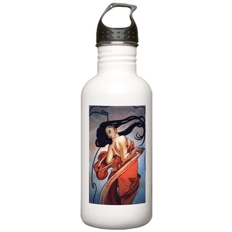 Alphonse Mucha Stainless Water Bottle 1.0L