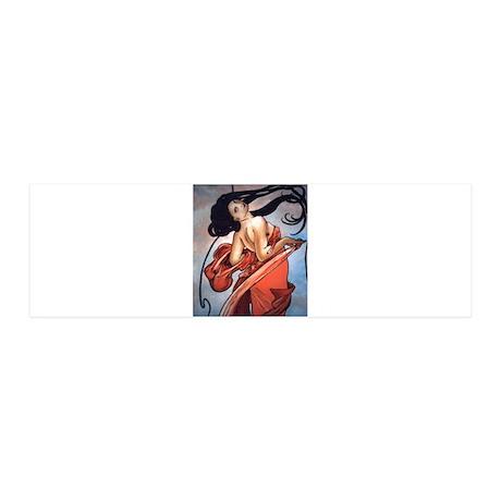 Alphonse Mucha 42x14 Wall Peel