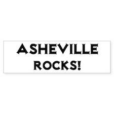 Asheville Rocks! Bumper Bumper Sticker
