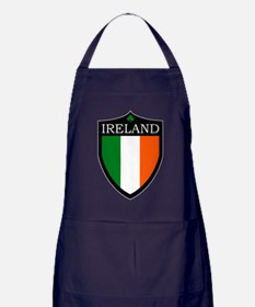 Ireland Flag Patch Apron (dark)