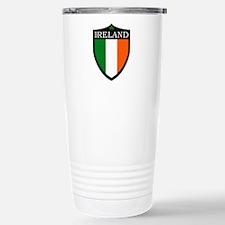Ireland Flag Patch Travel Mug