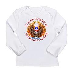 Untamed WY Spirit Long Sleeve Infant T-Shirt