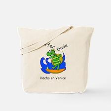 Hecho en Venice Surfer Dude Tote Bag