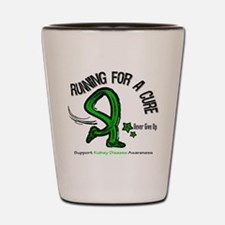 Kidney Disease Cure Run Shot Glass