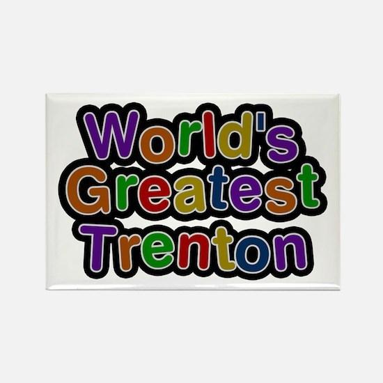 World's Greatest Trenton Rectangle Magnet