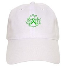 Kidney Disease Hope Faith Deco Baseball Cap