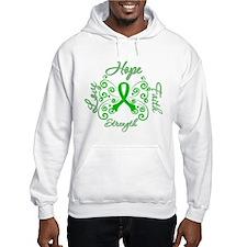 Kidney Disease Hope Faith Deco Jumper Hoody