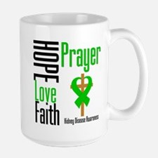 Kidney Disease Hope Prayer Mug