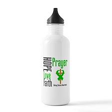 Kidney Disease Hope Prayer Water Bottle