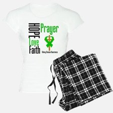 Kidney Disease Hope Prayer Pajamas