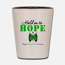 Kidney Disease Hold On To Hop Shot Glass