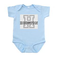 Letter H: Houston Infant Creeper