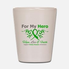 Kidney Disease For My Hero Shot Glass
