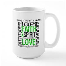 Kidney Disease Can'tTakeHope Mug
