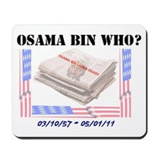 Osama Bin Laden Mousepad