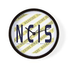 NCIS TV: Crime Scene Wall Clock