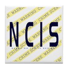 NCIS TV: Crime Scene Tile Coaster