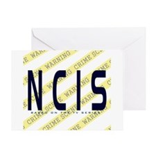 NCIS TV: Crime Scene Greeting Card