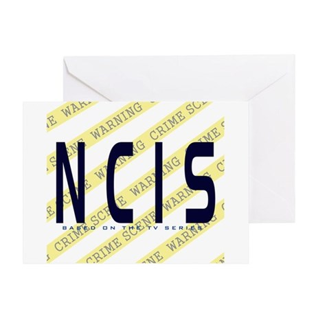 NCIS TV: Crime Scene Greeting Card