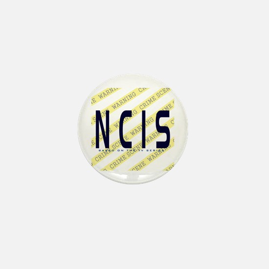 NCIS TV: Crime Scene Mini Button