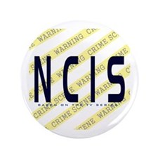 "NCIS TV: Crime Scene 3.5"" Button"
