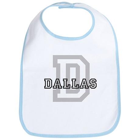 Letter D: Dallas Bib