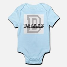 Letter D: Dallas Infant Creeper
