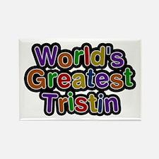 World's Greatest Tristin Rectangle Magnet