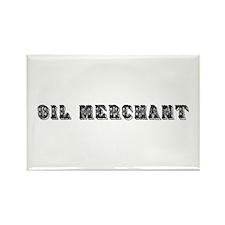Oil Merchant Rectangle Magnet