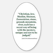 Rumi Religion Quote Decal