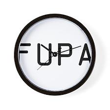 Fupa Wall Clock