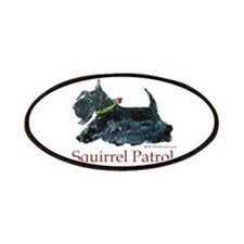 Scottie Squirrel Patrol Patches