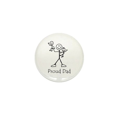 Proud Dad Mini Button