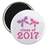 2017 Girls Graduation Magnet