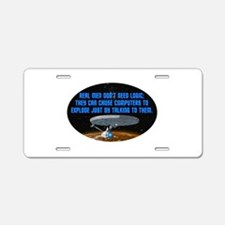 ST: Logic Aluminum License Plate