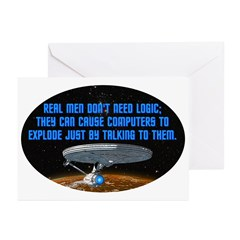 ST: Logic Greeting Cards (Pk of 10)