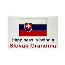 "Slovak Grandma Magnet (3""x2"")"