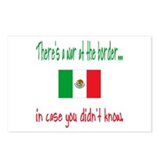 There's a War on our Border Postcards (Package of