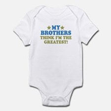 My Brothers Infant Bodysuit