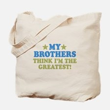 My Brothers Tote Bag